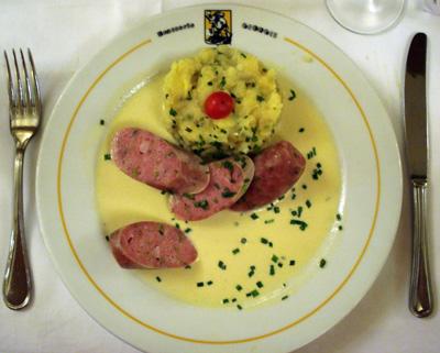 Brasserie Georges - Saucisson Chaud