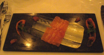 The Dining Room - Smoked Salmon