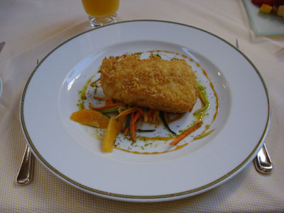 The Belvedere - Crusted Sea Bass
