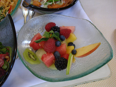 The Belvedere - Fruit Salad