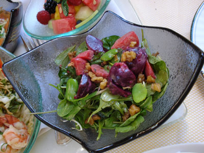 The Belvedere - Organic Beet Salad