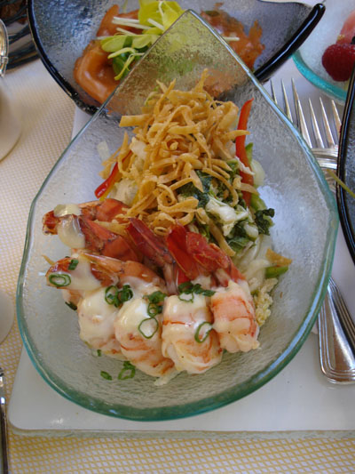 The Belvedere - Sauteed Prawns