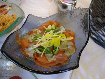 The Belvedere - Smoked Salmon