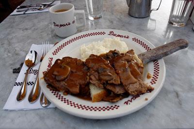 Du-par's - Meatloaf Sandwich