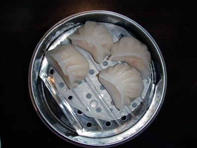 Purple Fusion - Shrimp Dumpling
