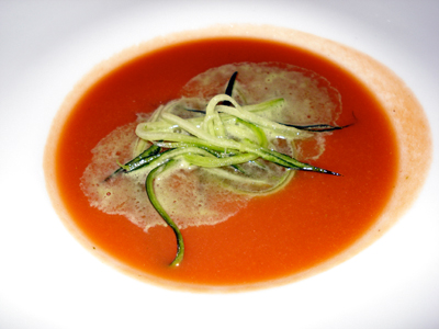 Saddle Peak Lodge Gaspacho