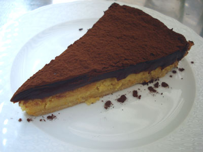 Muscade - Orange and Chocolate Tart
